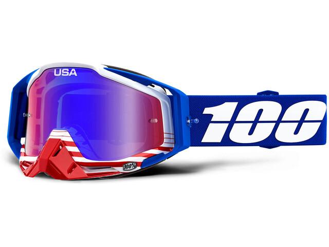 100% Racecraft Anti Fog Mirror Lunettes de protection, anthem